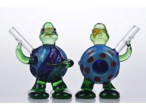Skleněná fajfka Mutant Ninja Turtles