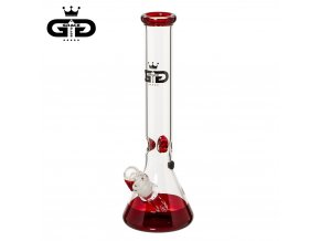 Skleněný bong Grace Glass Baked Beaker Red