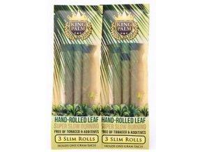 Palmové předbalené blunty King Palm 3 Slim