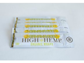 Konopné blunty High Hemp Organic +CBD Banana God