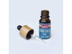 Dobrá Tráva CBD Olej Olivový 5 % 10 ml