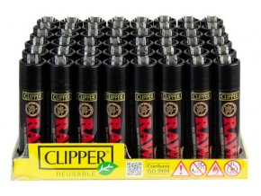 Zapalovač CLIPPER ® CP11H Raw Papers Black Edition