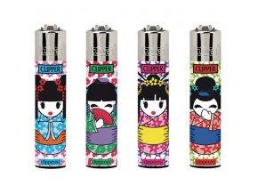 Zapalovač CLIPPER ® CP11RH Geisha Dolls