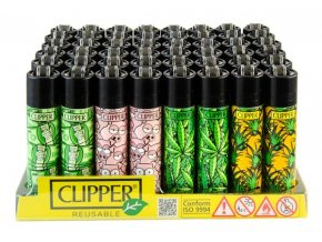 Zapalovač CLIPPER ® CP11RH Mix Pattern Weed