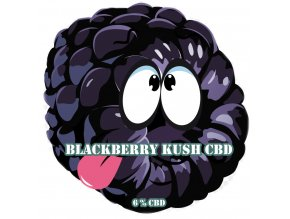 CBD Weed Space Stoners BlackBerry Kush CBD 6 % 1 G