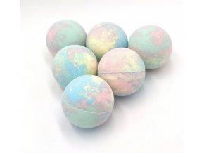 Space Stoners Koupelové CBD Bath Bomb 90 mg CBD Tutti Frutti