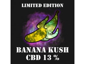 CBD Weed Space Stoners Banana Kush CBD 13 % 5 G Limited