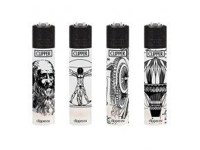 Zapalovač CLIPPER ® CP11RH Da Vinci #2