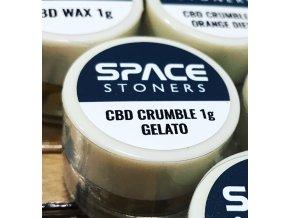 Space Stoners CBD Extract Crumble Gelato USA 96 % 1 g