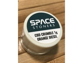 Space Stoners CBD Extract Crumble Orange Diesel USA 96 % 1 g