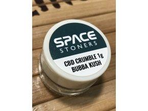 Space Stoners CBD Extract Crumble Bubba Kush 96 % 1 g