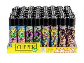 Zapalovač CLIPPER ® CP11RH Psychedelic 5 CLIP FZ 394 02