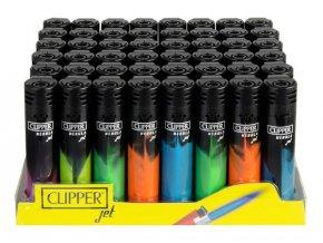 Zapalovač CLIPPER ® CP11RH Jet Flame Nebula