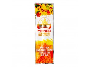 Konopné blunty True Hemp USA Mango 2pack