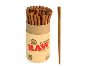 Raw Papers RAW Poker Stuffer Wood 5pcs