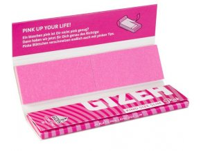 Gizeh Pink Edition King Size Extra Fine + Tips
