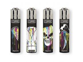 Zapalovač CLIPPER ® CP11RH Melt Psycho