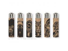 Korkový zapalovač CLIPPER ® Angry Animals