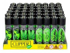 Zapalovač CLIPPER ® CP11RH Grass Art
