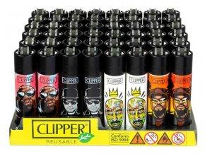 Zapalovač CLIPPER ® CP11RH Hip Hop Legends