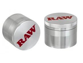 Kovová čtyřdílná drtička Raw Papers Polinator