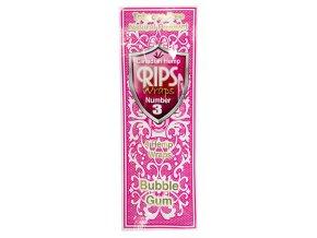 Konopné blunty RIPS Hemp Ultra 4pack No.3 BubbleGumRIPS HW 03 02