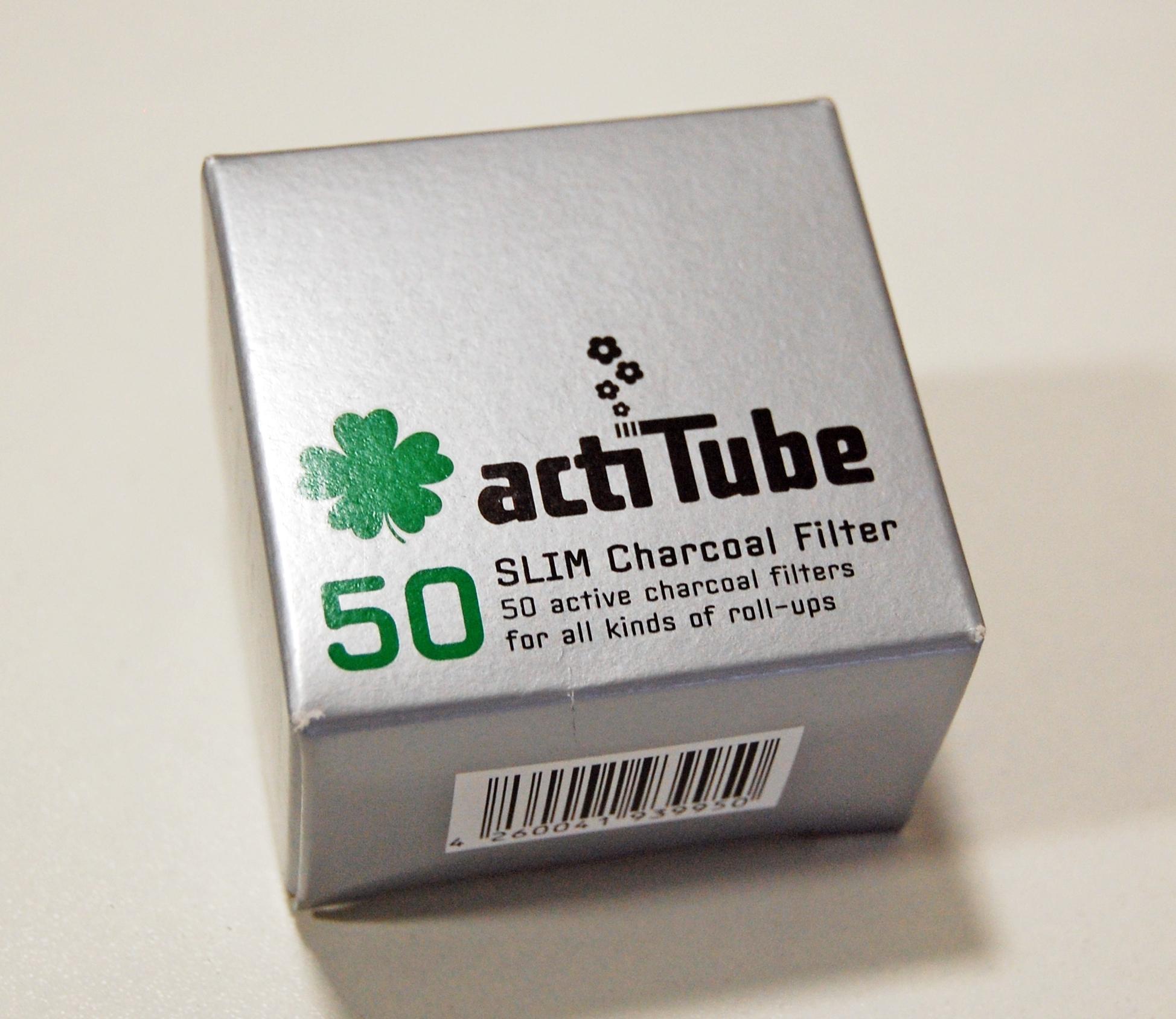 Uhlíkové filtry ActiTube Slim 50