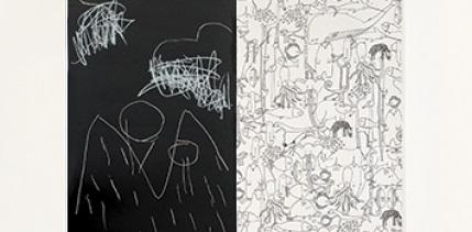 Dokreslovací tapety a nálepky na zeď