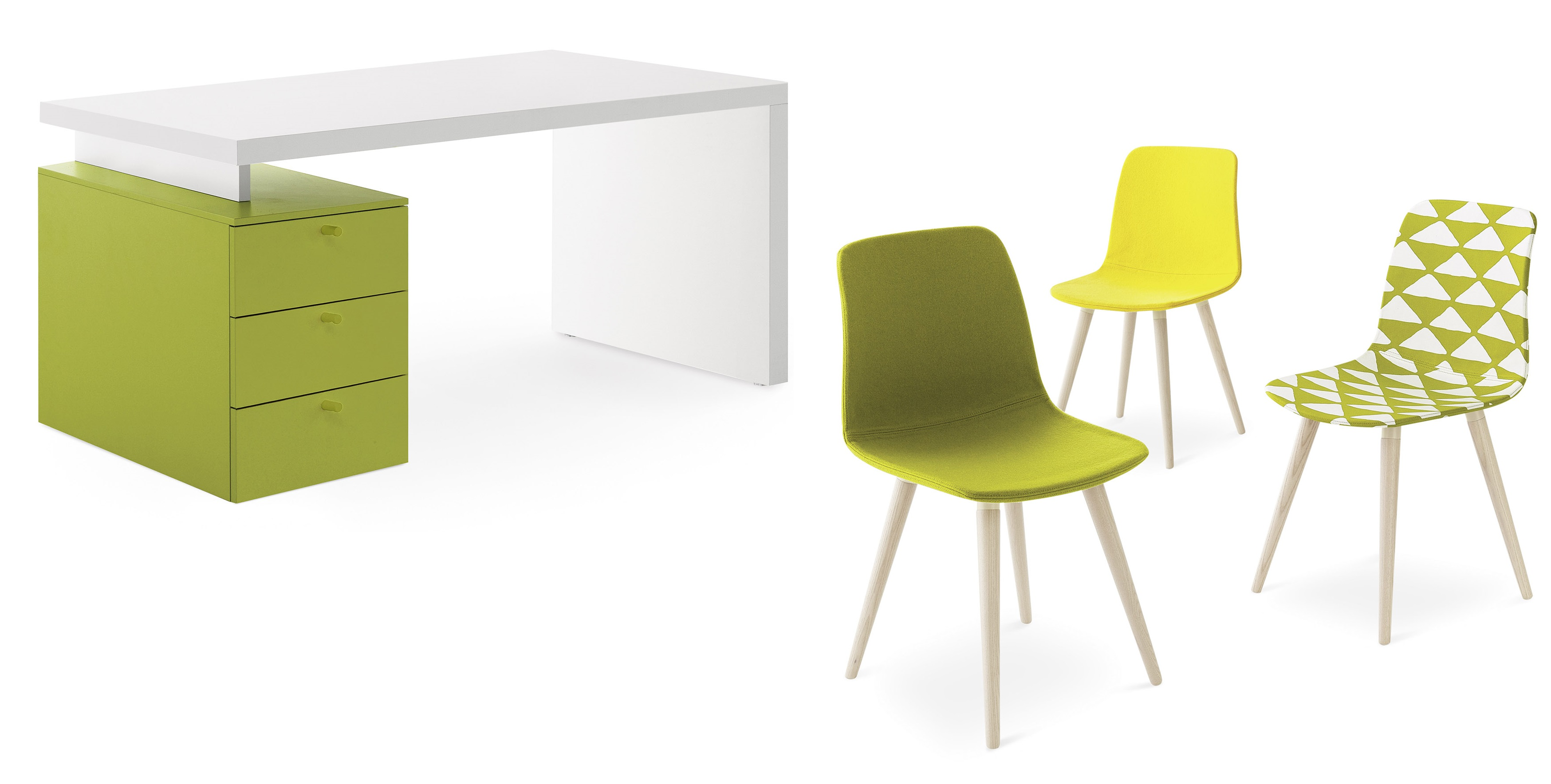 Stoly, židle Nidi