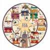 Kruhové Puzzle ruské kolo, 36 dílků