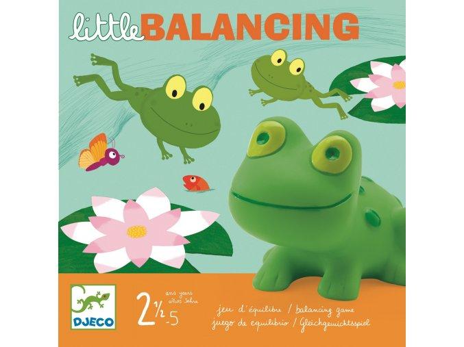 Stolní hra pro nejmenší - balanční žabky
