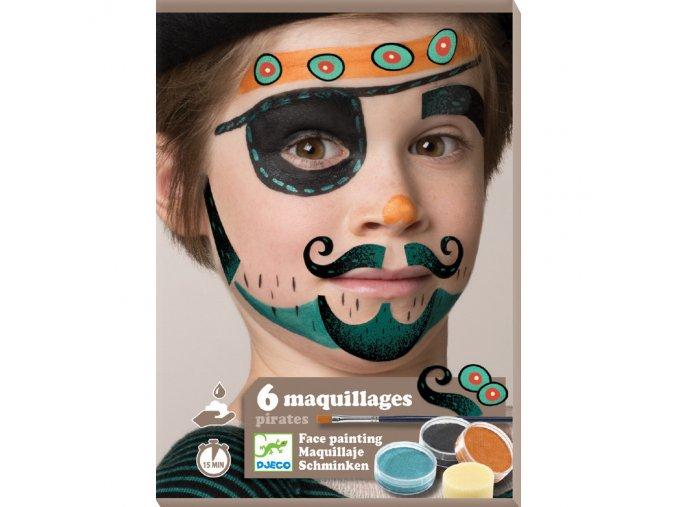 Make up - Piráti