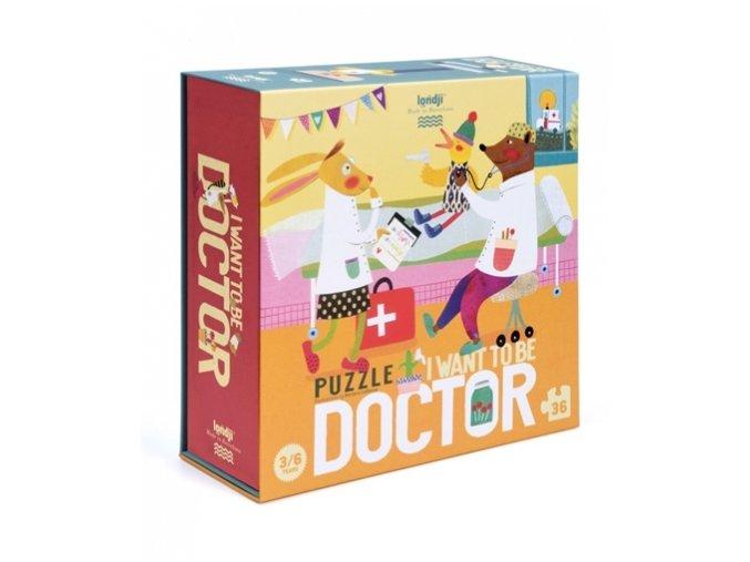 Puzzle chci být doktorem, 36 dílků