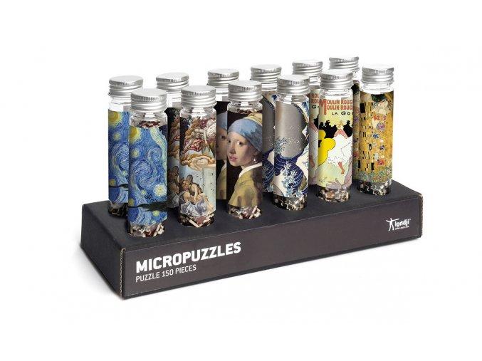 MICROpuzzle ART, 150 dílků
