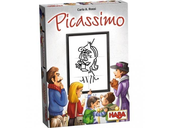 Společenská hra Picassimo - anglická verze, 8+