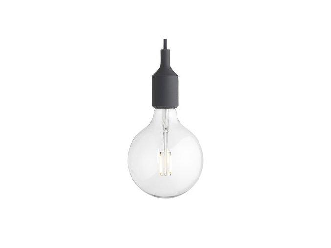 Závěsné svítidlo E27 - šedé / MUUTO