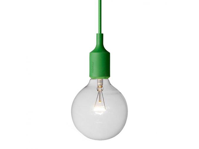 Závěsné svítidlo E27 - zelené / MUUTO