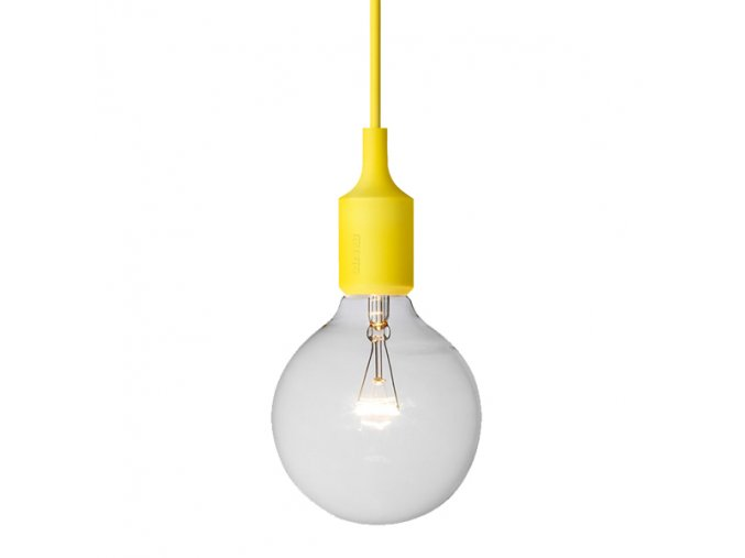 Závěsné svítidlo E27 - žluté / MUUTO