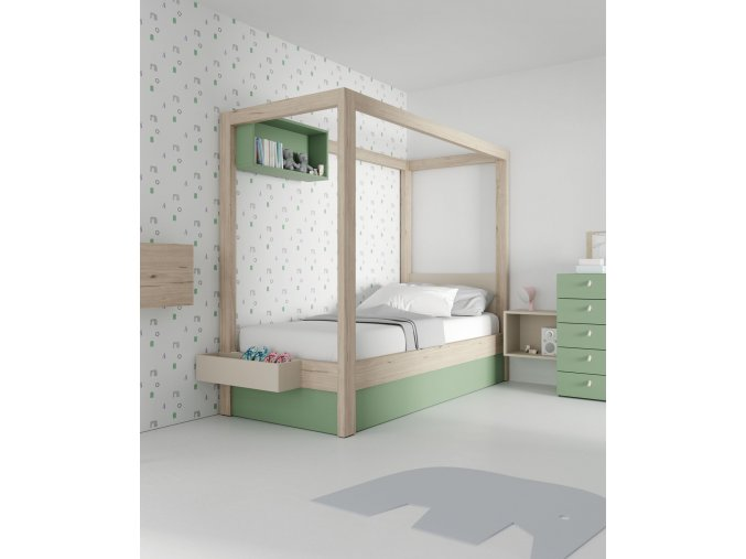 postel s nebesy JJP