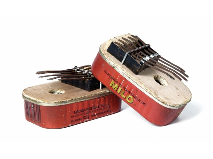 recycled kalimba