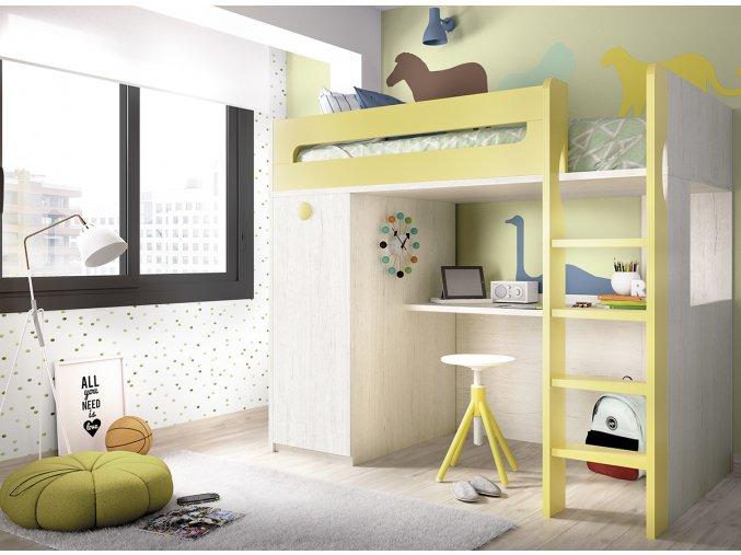 patrová postel Rimobel H306 W