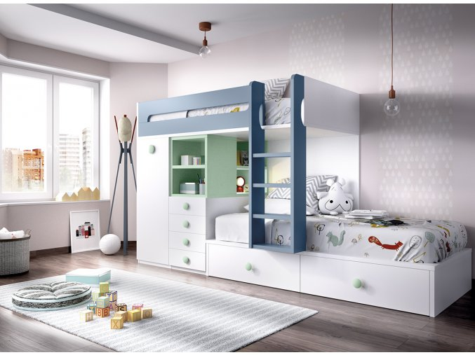dětský pokoj H312 B W