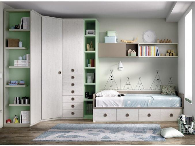 studentský pokoj H215 W