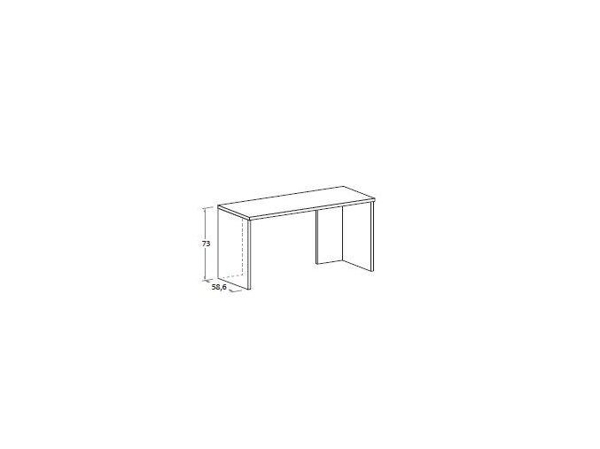 studentský stůl klasický