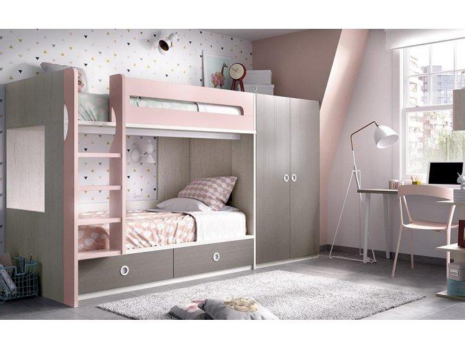 patrová postel H302