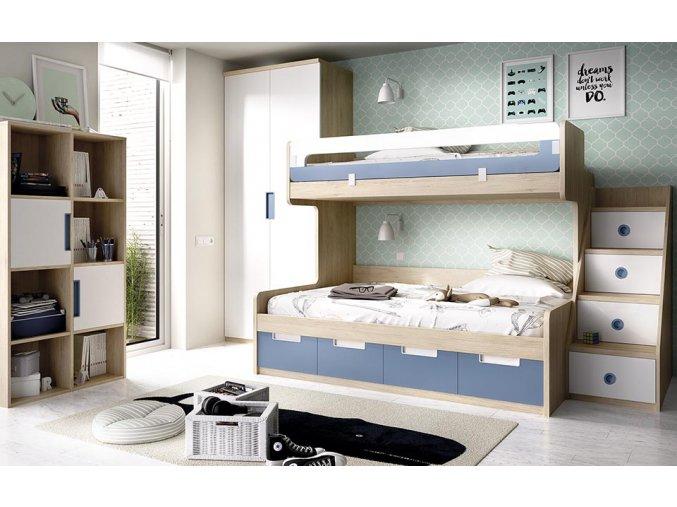 patrová postel H311