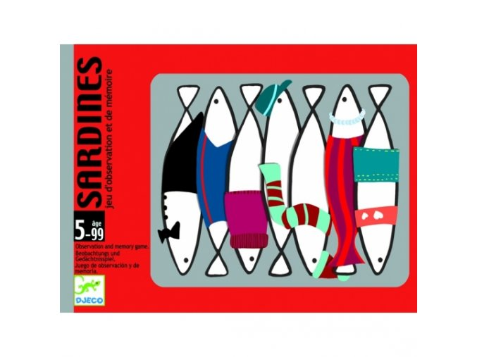 kartova hra sardinky djeco dj05161