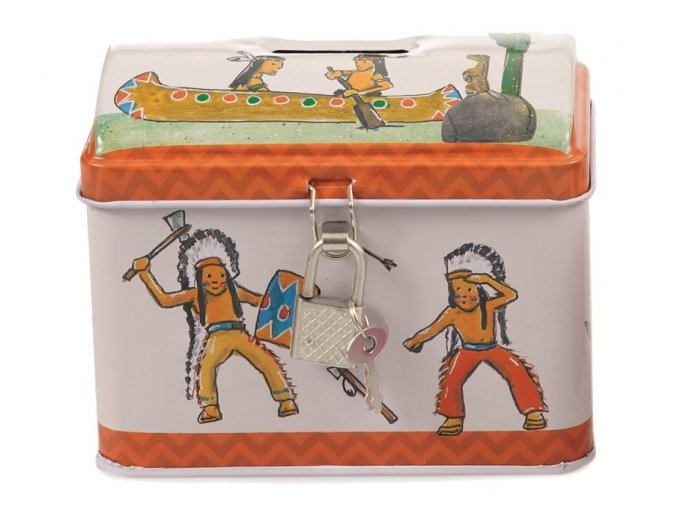 pokladnička indián