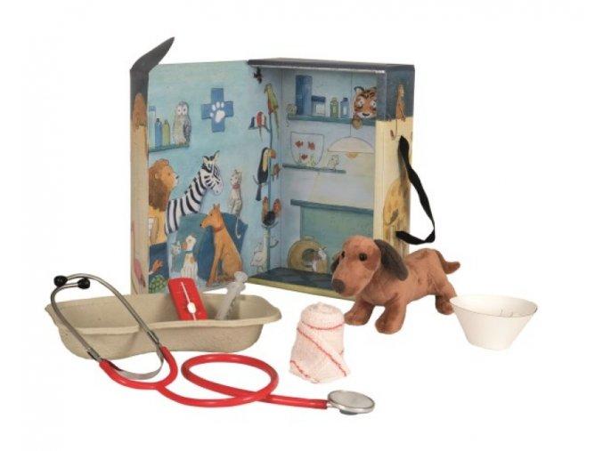 Veterinární ordinace v kufříku