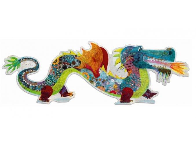 Puzzle Čínský drak, 58 dílků